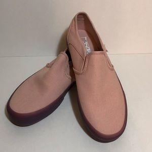 Vans Slip on translucent gummy soles